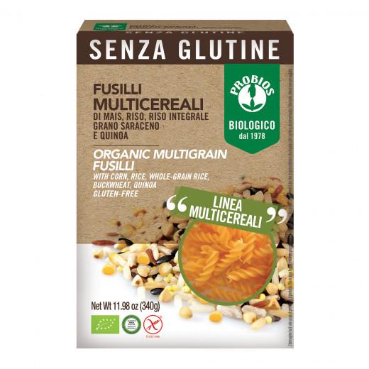 Probios Organic Gluten Free  Multigrain Fusilli 340g