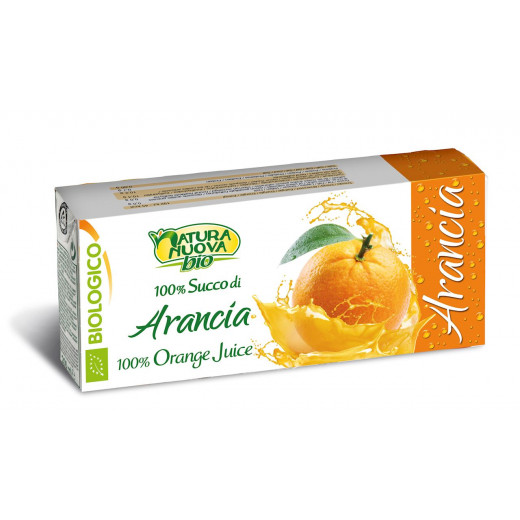 عصير برتقال عضوي 3 * 200 مل من ناتشورا نوفا