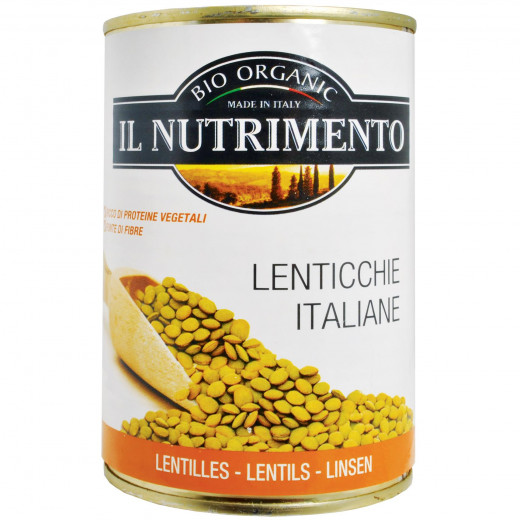 IL Nutrimento Organic Lentils in Water 400g