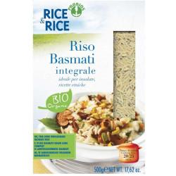 Probios Rice & Rice Rice Basmati Integrale Organic 500g