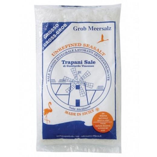 Probios Trapani Unrefined Sicilian Sea salt Course 1 kg