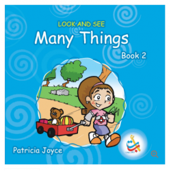 Look and See Series - LOOK AND SEE Many Things BOOK 2 - 34 Pages - 20x20 - Carton Cover