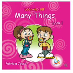 Look and See Series - LOOK AND SEE Many Things BOOK 1- 30 Pages - 20x20 -  Carton Cover