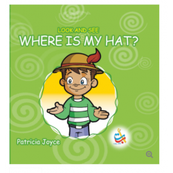 Look and See Series - WHERE IS MY HAT? - 33 Pages - 20x20 - Carton Cover