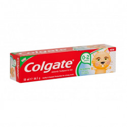 Colgate Strawberry Toothpaste for Kids, 0-2 years, 50ml