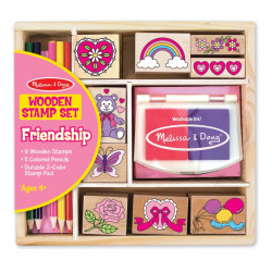 Melissa & Doug Friendship Stamp Set - Friendship