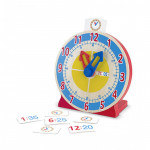 Melissa & Doug Turn & Tell Wooden Clock