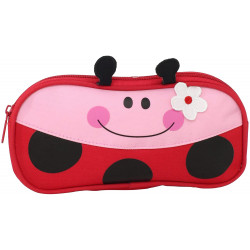 Stephen Joseph Pencil Pouches, Ladybug