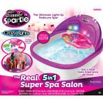 Cra-Z-Art Shimmer N' Sparkle Super Spa Salon Pedicure Toy Set