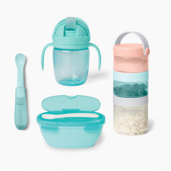 Skip Hop Easy-Pack Travel Feeding Set