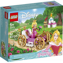 LEGO Disney Aurora's Royal Carriage Creative Princess Building Kit, 62 Pieces