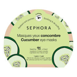 Sephora Radiance hydrating Cucumber eye mask