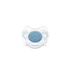 Suavinex Pacifier Premium Couture Physiological Teat 0-4 months- Dark Blue