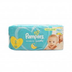 Pampers New Baby-Dry Diapers, Size 2, Mini, 3-8 kg, 56 Count