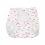 Farlin Baby Cloth Diaper Pant, Medium Size 6-9 Kg , 2 Assorted Models
