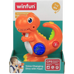 Winfun Voice Changing Dino With Flash