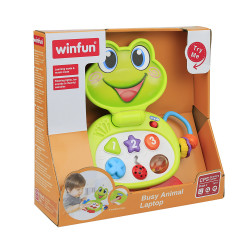 Winfun Busy Animal Laptop - Froggy