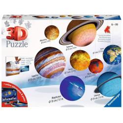 Ravensburger Solar System 3d Puzzle, Multicolor