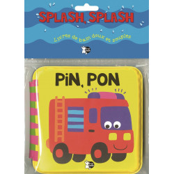 Splash Splash Pin Pon Children's book