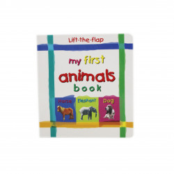 North Parade publishing - Mini Lift-the-flap Board Book My First Animals Book - Book One