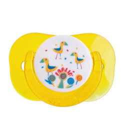 Farlin Tritan Pacifier -g- 0m+, Yellow