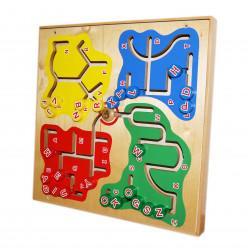 Alphabet Maze Logico