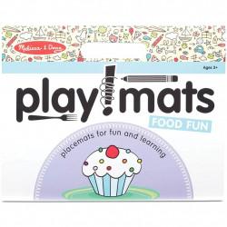 Melissa & Doug - Playmats - Food Fun