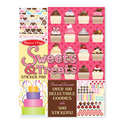 Melissa & Doug Sweets And Treats Stickers Pad