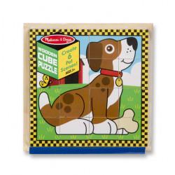 "Melissa & Doug Jigsaw Puzzle 16pcs 8""X8""-Pets"