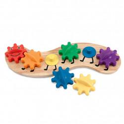 Melissa & Dough Caterpillar Gears Toddler Toy