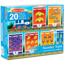 Melissa & Doug Number Train Floor Puzzle