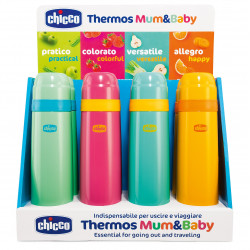 Chicco Thermos Liquid 500ml on Display, Assorted