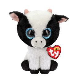 Soft Toy Beanie Boos TY Butter Cow Big Eyes Grandi