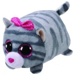 Teeny Ty Cassie Grey Cat