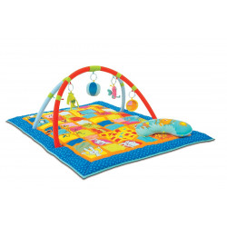 Taf Toys Curiosity Activity Gym and Play Mat. Extra Large 59 X 39 Inch