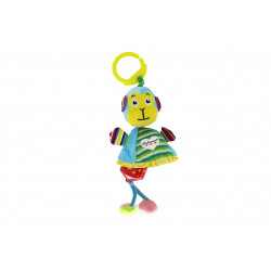 Ferdinand Wind Chime Clip on Toy for Stroller Crib Playmate, Monkey