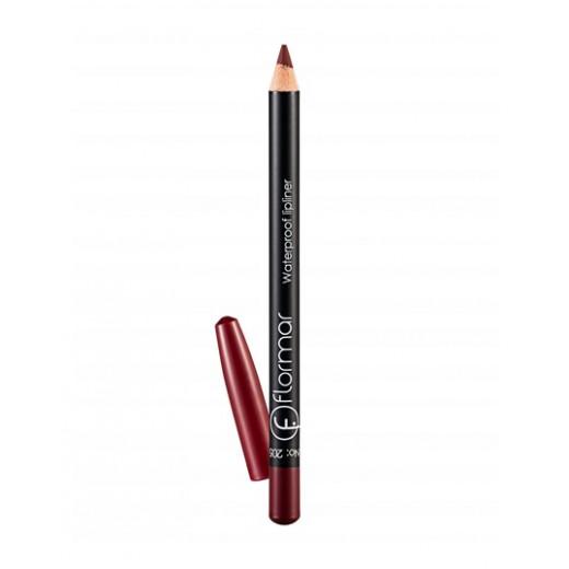 Flormar - Waterproof Lipliner Pencil 205  Elegant Bordeaux