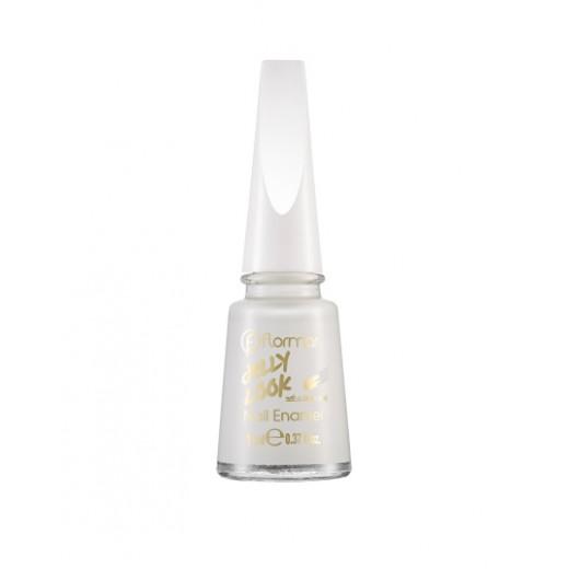 Flormar - Jelly Look Nail Enamel JL01 Pure Milk
