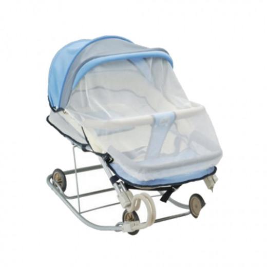 كرسي أطفال متعدد الإستعمالات من فارلين اللون الأزرق