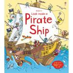كتاب انظر داخل سفينة القراصنة مع صور متحركة بالداخل من يوسبورن