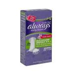 حفاظات يومية للنساء من اولويز تحتوي على رائحة منعشة عادية ومتعددة الاستخدامات 20 فوطة