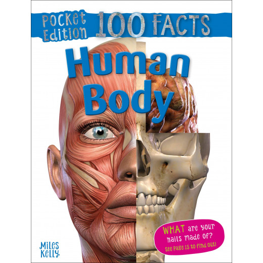 Miles Kelly - 100 Facts Human Body Pocket Edition