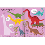 Miles Kelly - Lots To Spot Sticker Book Dinosaurs