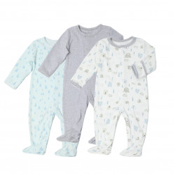 Colorland - (2) Baby Romper 3 Pieces In One Pack - 3-6 Months