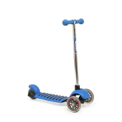 Yvolution Kid's Y Glider Deluxe Double Deck Scooter - Blue