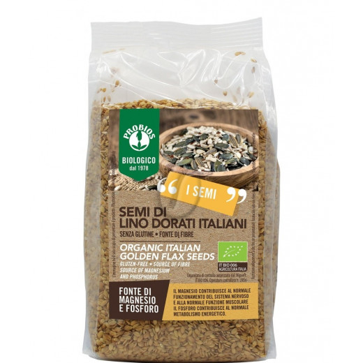 Probios Organic Golden Flax Seed 500g