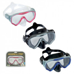 Best Way Submira Dive Adult Mask, Openable Pack, 3 Assorted Colors