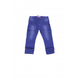 Jeans Simple Design With Elastic Waist , 3 Years