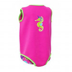 Zoggs Sea Saw Baby Wrap Pink ,6-12 Months
