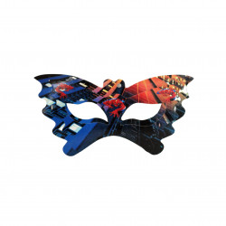 Happy Birthday Party Face Eye Mask Pack of 11- Spider Man Design
